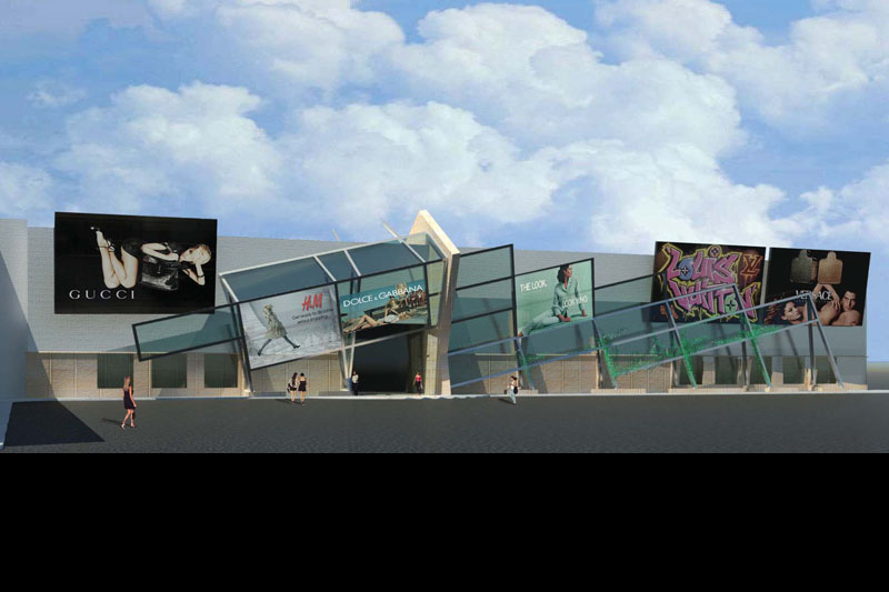 Crossgates Mall Conceptual Design