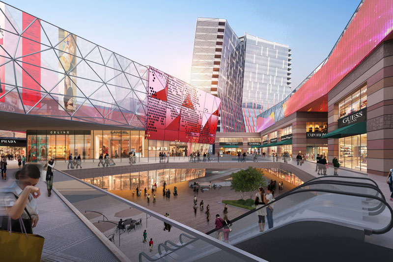 Zhongyou Hotel Complex & Shopping Center - Shanghai, China